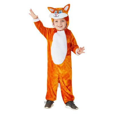 Peuter Kat Kostuum - Oranje
