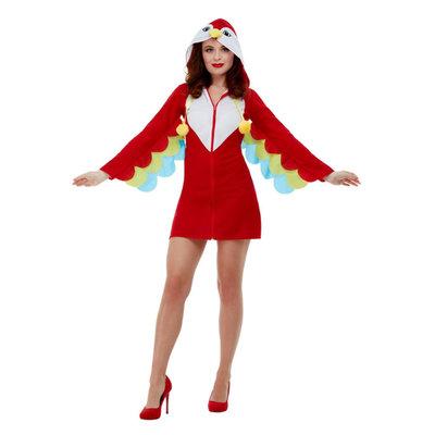 Papegaai Kostuum - Rood