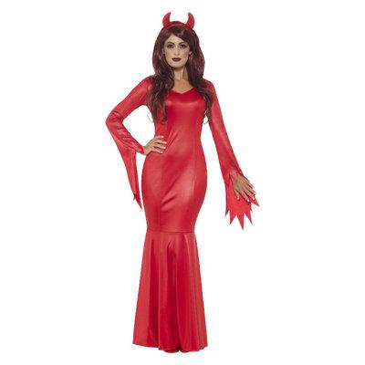 Rood Duivel Kostuum Dames