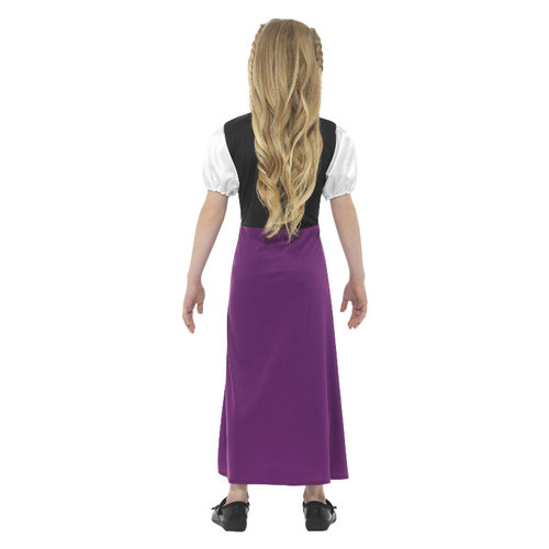 Smiffys Beierse Prinses Kostuum - Veelkleurige