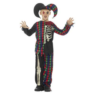 Skelet Narrenkostuum - Veelkleurige