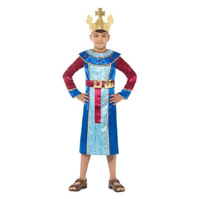 Koning Melchior Kostuum - Blauw