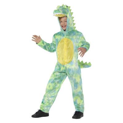 Deluxe Dinosaurus Kostuum - Groen