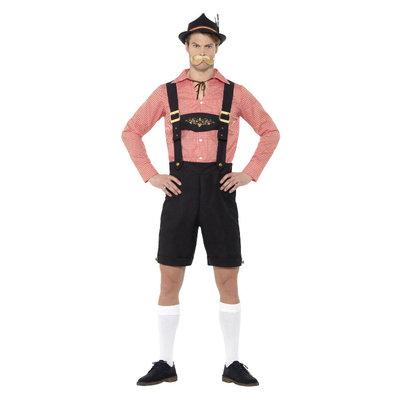 Oktoberfest Kostuum - Rood