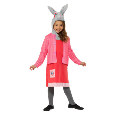Peter Konijn - Lelie Bobtail Luxe Kostuum - Roze