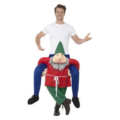 Carry me Kabouter Kostuum - Groen