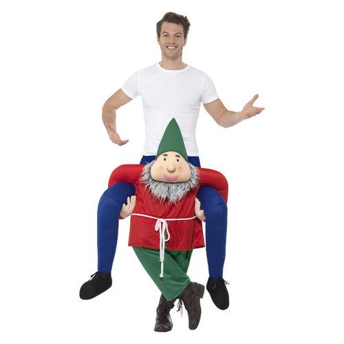 Smiffys Carry me Kabouter Kostuum - Groen
