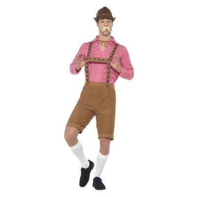 Mr Beiers Kostuum - Rood En Bruin