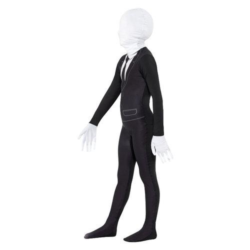Smiffys Bovennatuurlijke Jongen Kostuum - Zwart-wit