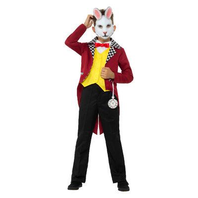 Wit Konijn Kostuum - Veelkleurige