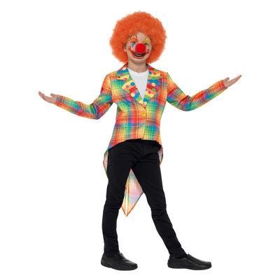 Neon Tartan Clown Rokjas - Veelkleurig