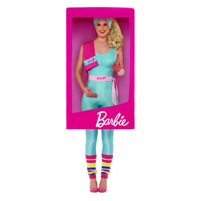 Barbie 3d Doos Kostuum - Roze