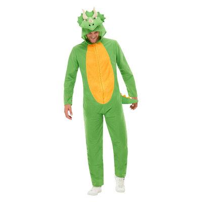 Dinosaurus Kostuum - Groen