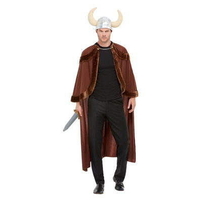 Viking Kostuum - Bruin