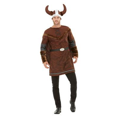 Viking Barbaarse Kostuum - Bruin