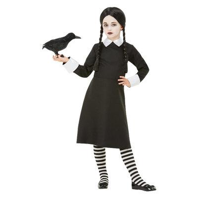 Gothic School Meisje Kostuum - Zwart