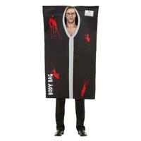 Smiffys Bodybag Kostuum - Zwart