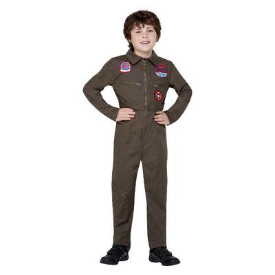 Top Gun Peuter Kostuum - Kaki