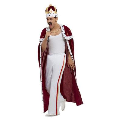 """Koning Deluxe """"koninklijk"""" Kostuum - Rood"""