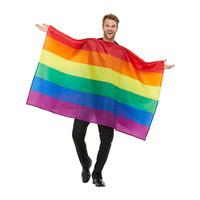 Regenboogvlag Kostuum - Veelkleurige