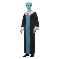 Smiffys Alien Lord - Blauw