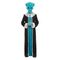 Smiffys Alien Kostuum - Blauw