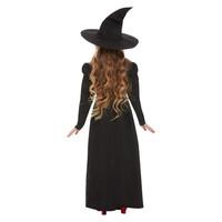 Slechte Heks Meisje Kostuum - Zwart