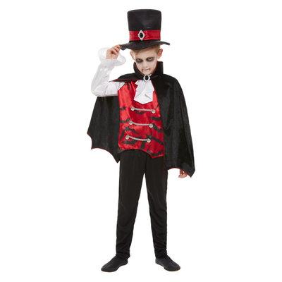 Vampier Kostuum - Zwart