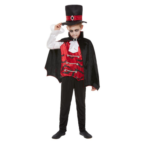 Smiffys Vampier Kostuum - Zwart