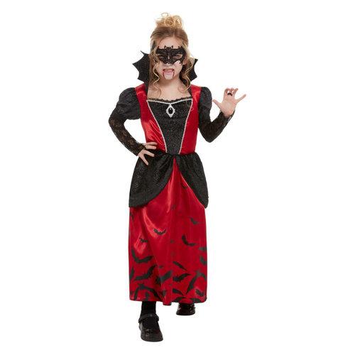 Smiffys Vampier Vicky kostuum