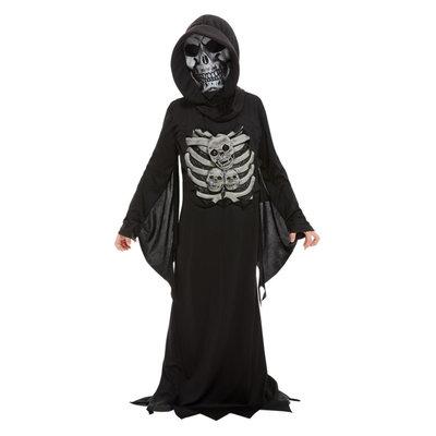 Magere Hein Kostuum - Zwart