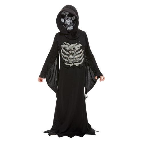 Smiffys Magere Hein Kostuum - Zwart