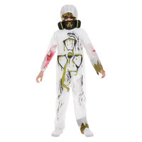 Smiffys Biohazardkostuum Kostuum - Wit