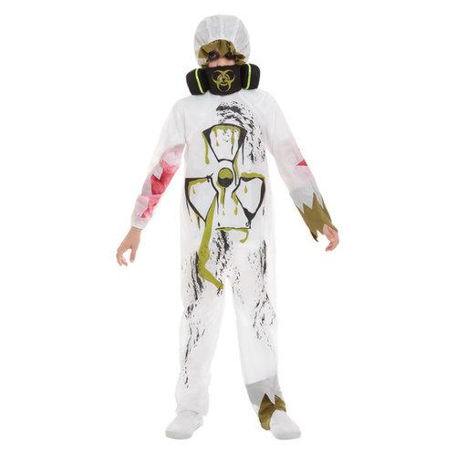 Biohazardkostuum Kostuum - Wit