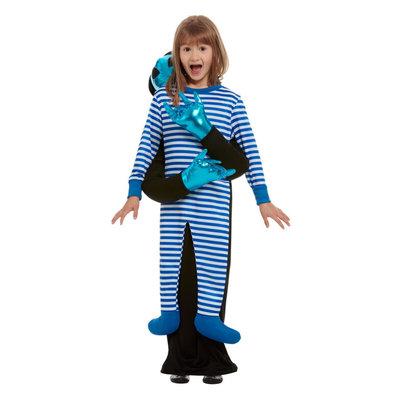 Ontvoering Door Buitenaardse Wezens Kostuum - Blauw