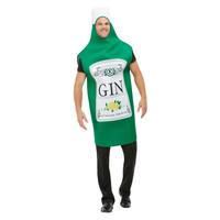 Smiffys Gin Fles Kostuum - Groen