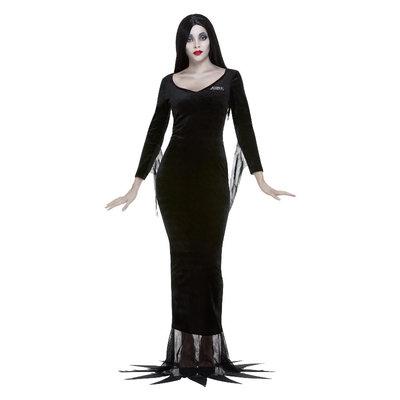Addams Family Kostuum Morticia - Zwart