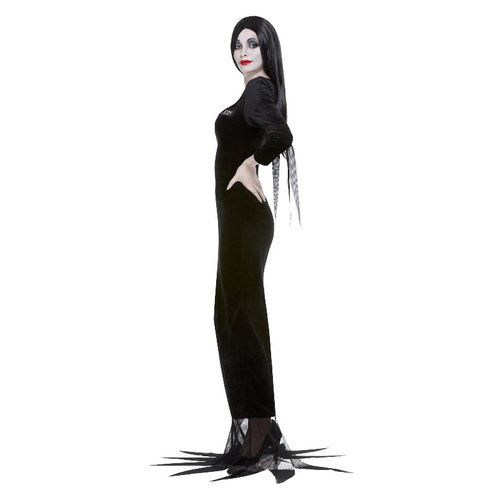 Addamsfamilie Morticia - Zwart