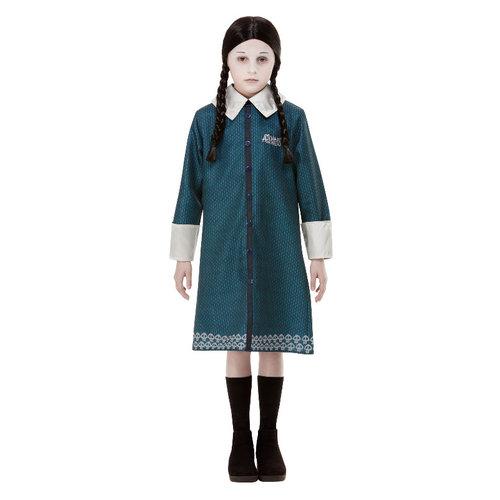 Addams family Kostuum Wednesday - Zwart
