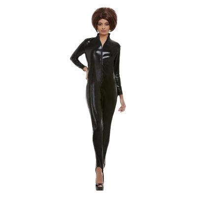 Posh Macht Kostuum - Zwart
