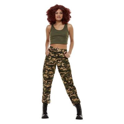Leger Kostuum Vrouwen - Kaki Groen