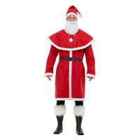 Smiffys Kerstman Santa Kostuum - Rood