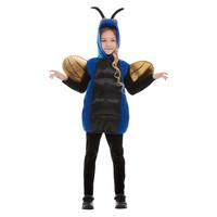 Smiffys Griezelig Bug Kostuum - Blauw