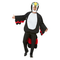 Smiffys Toekan Kostuum - Zwart