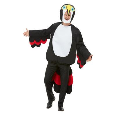 Toekan Kostuum - Zwart