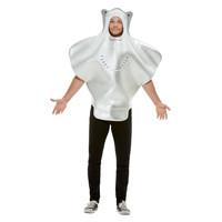 Smiffys Pijlstaartrog Kostuum - Grijs