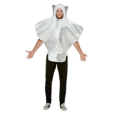 Pijlstaartrog Kostuum - Grijs