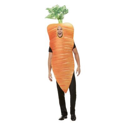 Wortel Kostuum - Oranje