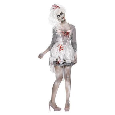 Zombie Kostuum vrouwen - Grijs