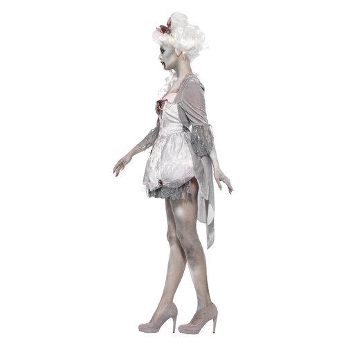 Smiffys Zombie Kostuum vrouwen - Grijs